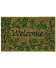 "Image of Bacova English Ivy 18"" x 28"" Welcome Doormat"