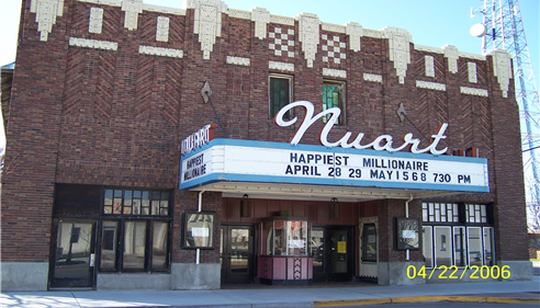 Historic Nuart Theater in Blackfoot!