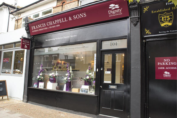 Francis Chappell & Sons Funeral Directors in East Dulwich