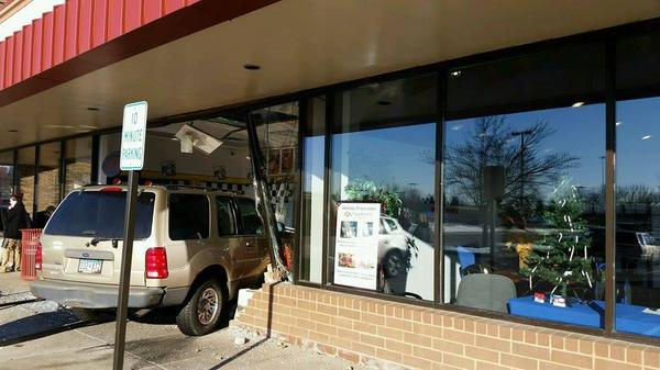 Coverage for your business in case someone tries to make your lobby into a drive-thru!