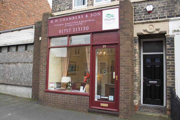 H H Chambers Son Funeral Directors In Selby Dignity Funerals