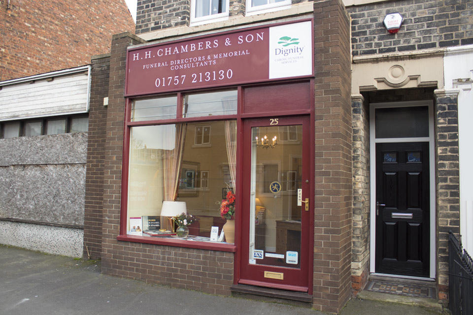H H Chambers & Son Funeral Directors in Selby, York