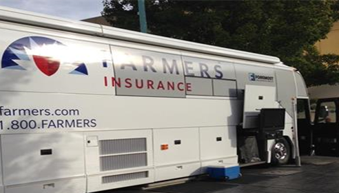 Farmers® Insurance - HelpPoint Catastrophe Bus