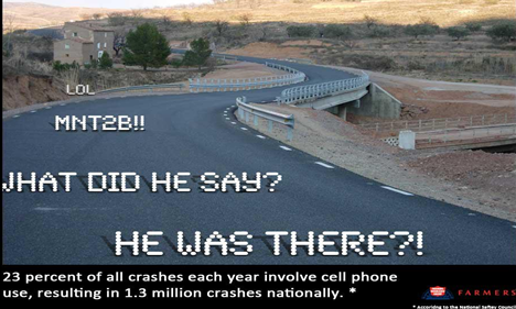 Be smart on the roads!