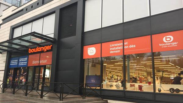 Photo du magasin Boulanger Levallois-Perret