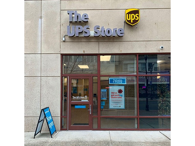 Photo of The UPS Store storefront in New Brunswick, NJ