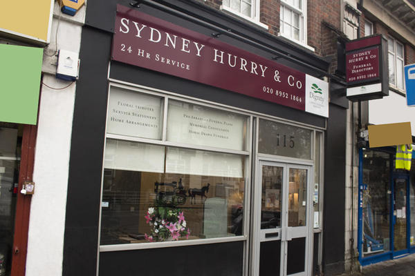 Sydney Hurry & Co Funeral Directors in Edgware