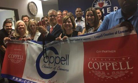Coppell Chamber of Commerce Ribbon Cutting