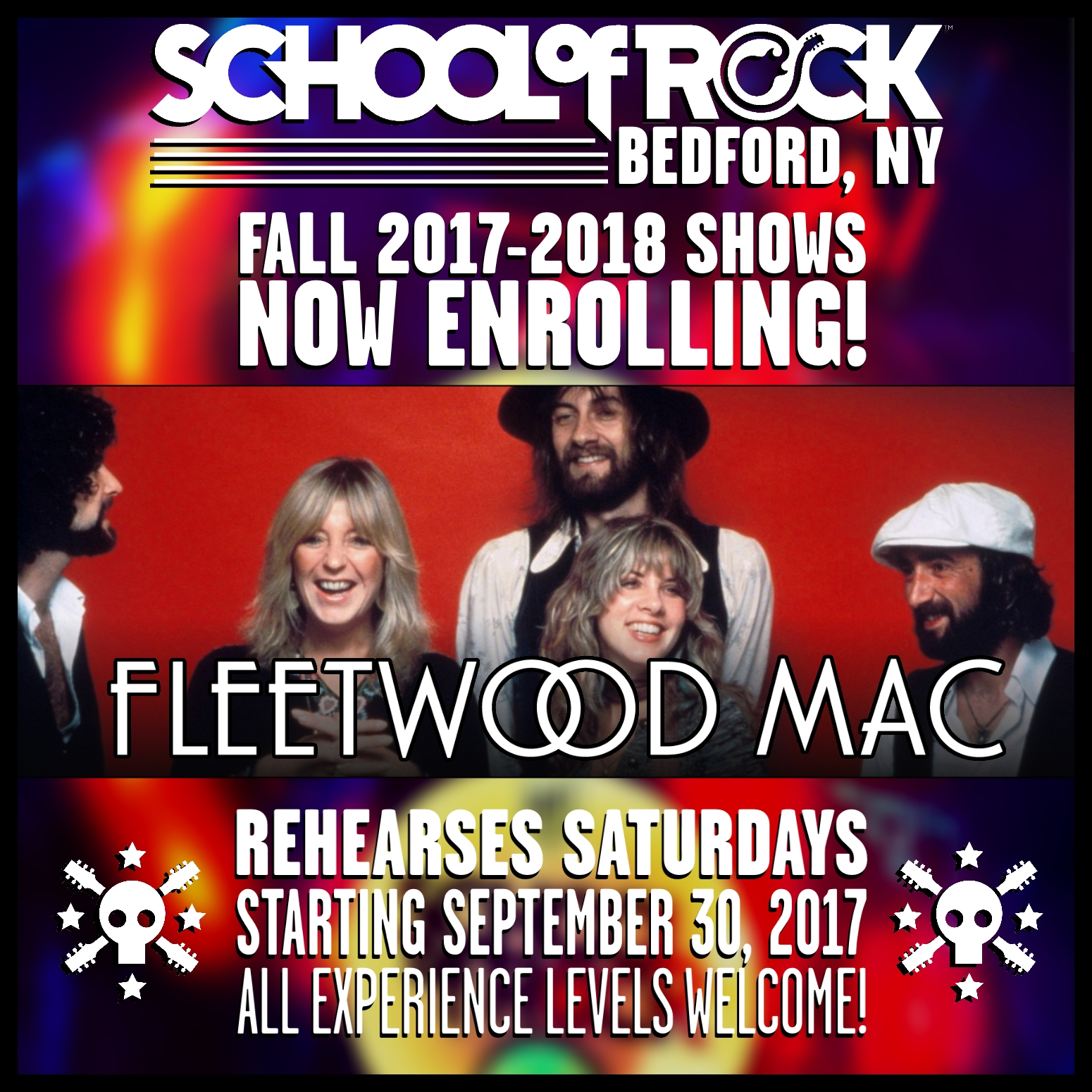 Image of FALL 2017-2018 SHOW #5: FLEETWOOD MAC