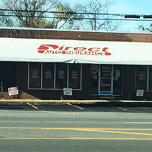 Front of Direct Auto store at 915 North West Broad Street, Murfreesboro