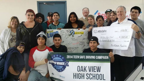 Chris Bugg - Oak View High School - Teen Safe Driving Program