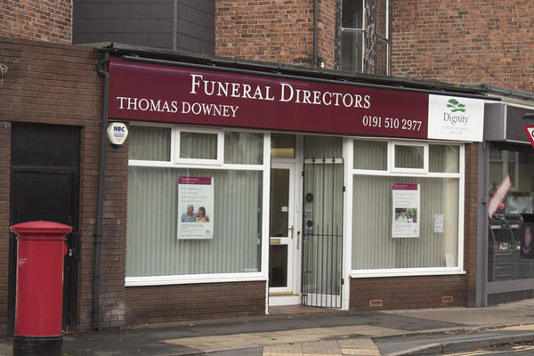 Thomas Downey Funeral Directors in Durham Road, Sunderland