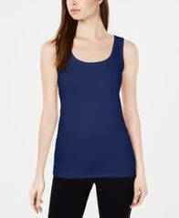 Image of Alfani Scoop-Neck Basic Tank, Created for Macy's