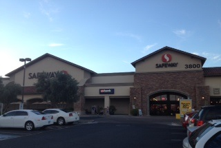 Safeway Store Front Picture at 3800 W Happy Valley Rd in Glendale AZ