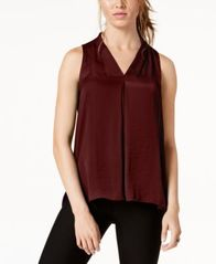 Image of Vince Camuto Inverted-Pleat Top, Created for Macy's