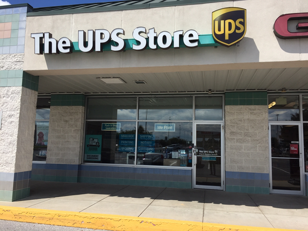 Facade of The UPS Store Chambersburg