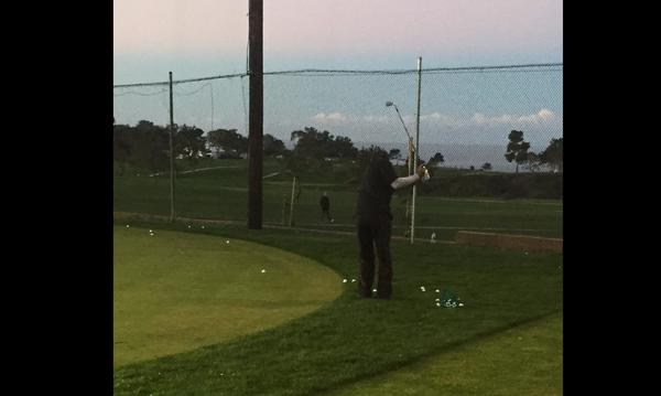 Tiger Woods at the Farmers® Insurance Open