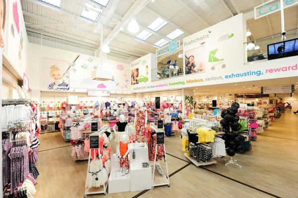 Bromborough Mothercare store overview