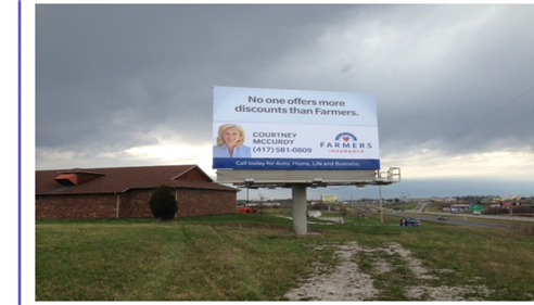 Check out our new billboard on 65 Highway!