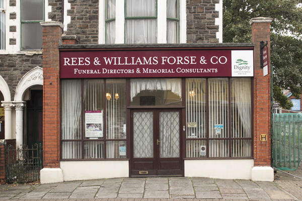 Rees & Williams Forse & Co Funeral Directors in Roath, Cardiff