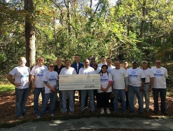 Craig Miller - Allstate Foundation Grant for the Greensboro Hospice and Palliative Center
