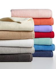 Image of Martha Stewart Collection Quick Dry Reversible Bath Towel, Created for Macy's