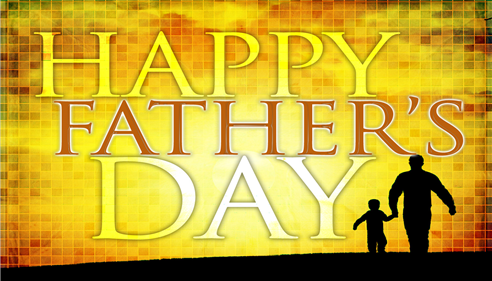 Wishing all Dads Happy Father's Day!!