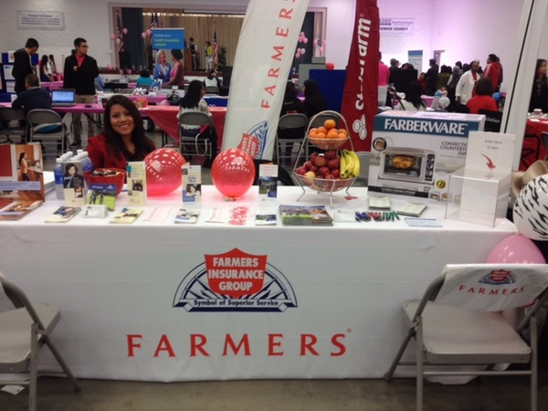 Farmers Agency booth at Asian Wellness Day event 2013