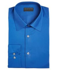 Image of AlfaTech by Alfani Men's Slim-Fit Performance Stretch Easy-Care Solid Dress Shirt, Created for Macy'