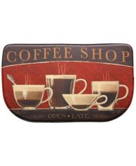 "Image of Bacova Kitchen, Coffee Shop 18"" x 30"" Memory Foam Rug"