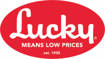 Lucky Means Low Prices Logo - 729 N Redwood Rd in Salt Lake City UT