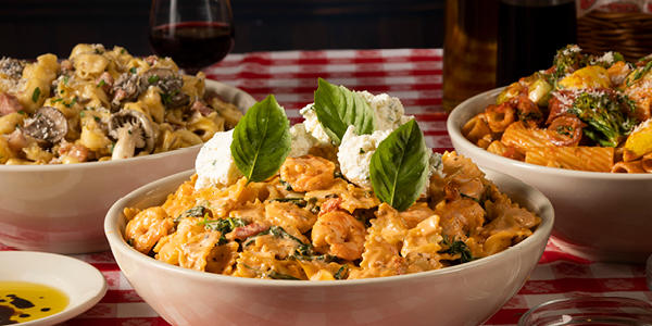 Buca di Beppo - World Pasta Month