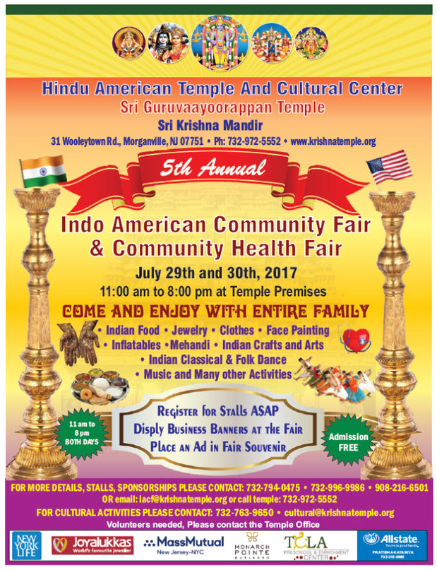 Pratibha Katariya - Indo American Community and Health Fair