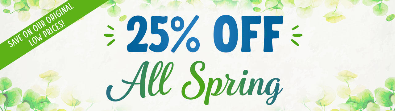 Even More Savings Are Here! Click here for more details.