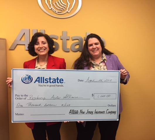 Cindy Donaldson - The Allstate Helping Hands Foundation Helps Roxbury Arts Alliance Inc