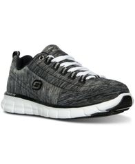 Image of Skechers Women's Synergy - Spot On Walking Sneakers from Finish Line