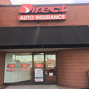 Front of Direct Auto store at 4487 Lebanon Road, Hermitage