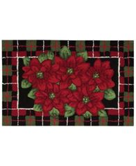 "Image of Nourison Rugs, Holiday Poinsettia 20"" x 32"" Accent Rug"