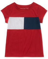 Image of Tommy Hilfiger Big Girls Pieced Flag T-Shirt