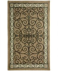 "Image of Bacova Kitchen, Reliance Eastly Rectangle 19"" x 32.8"" Rug"