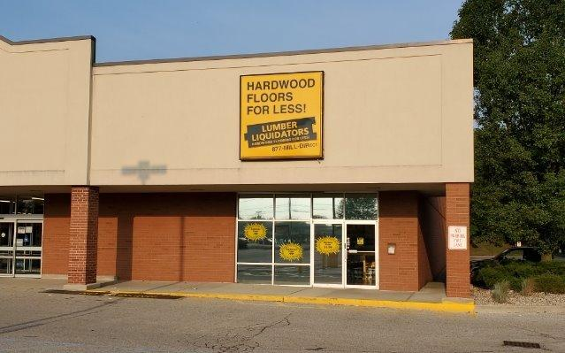 Lumber Liquidators Flooring #1038 North Indianapolis | 8410 N Michigan Rd | Store Front