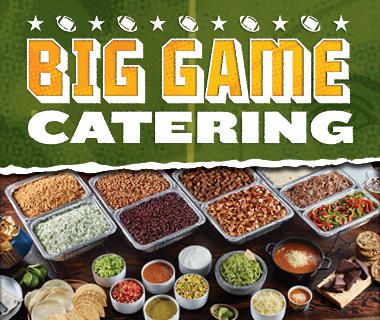 Cater Your Party for the Big Game Picture