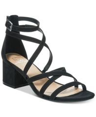 Image of Material Girl Inez Block-Heel Sandals, Created for Macy's
