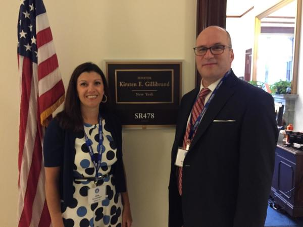 Erin McCartney - Erin McCartney Attended Allstate's Congressional Fly-In