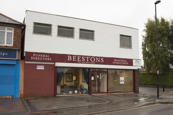 Beestons Funeral Directors in Southampton, Hampshire.