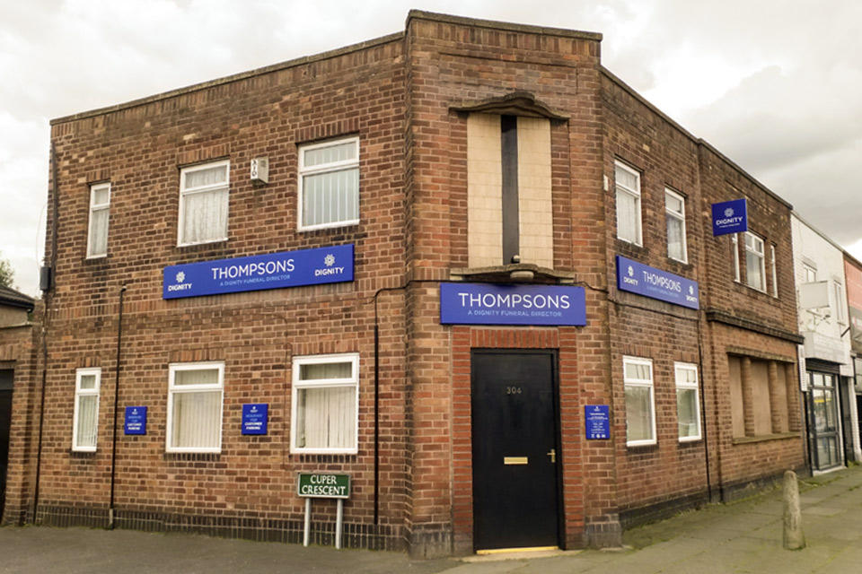 Thompsons Funeral Directors in Huyton, Liverpool