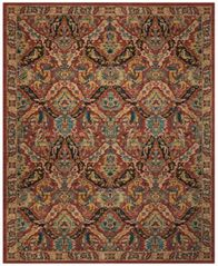 Image of Nourison 2020 NR205 Terracotta 2' x 3' Area Rug