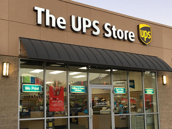 Facade of The UPS Store Lehi