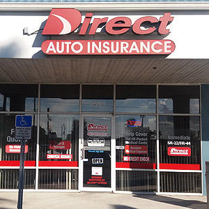 Front of Direct Auto store at 2591 North Orange Blossom Trail, Kissimmee
