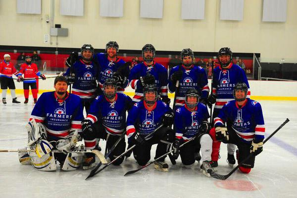 sotastick farmers ice hockey team